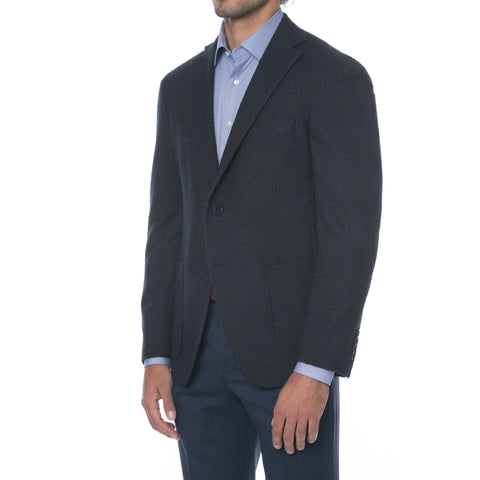 Grey Windowpane Sport Jacket