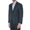 Charcoal Melange Technical Wool Suit