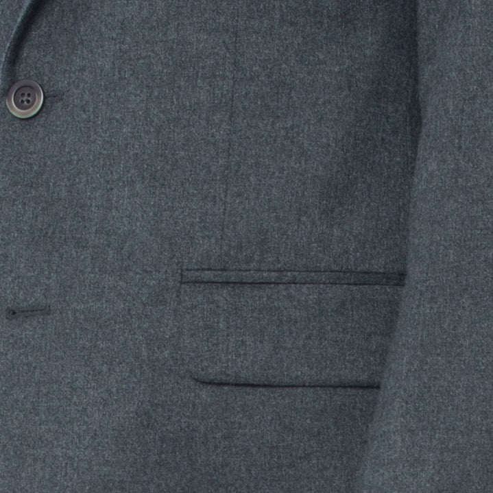 Charcoal Flannel Suit - Sydney's, Toronto, Bespoke Suit, Made-to-Measure, Custom Suit,