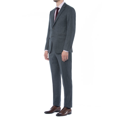 Arctic Grey Wool Suit