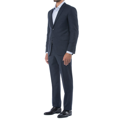 Bright Navy Wool Suit