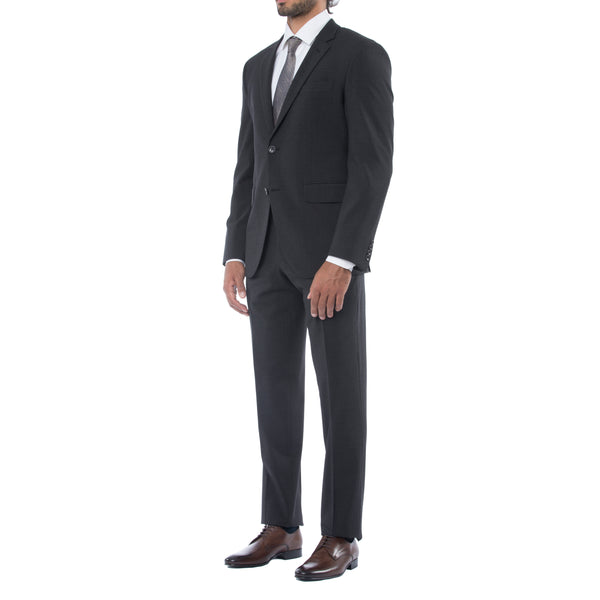 Black Technical Wool Suit - Sydney's, Toronto, Bespoke Suit, Made-to-Measure, Custom Suit,