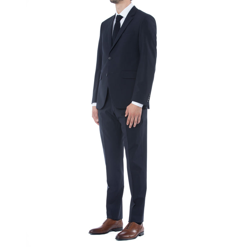 Navy Technical Wool Suit - Sydney's, Toronto, Bespoke Suit, Made-to-Measure, Custom Suit,