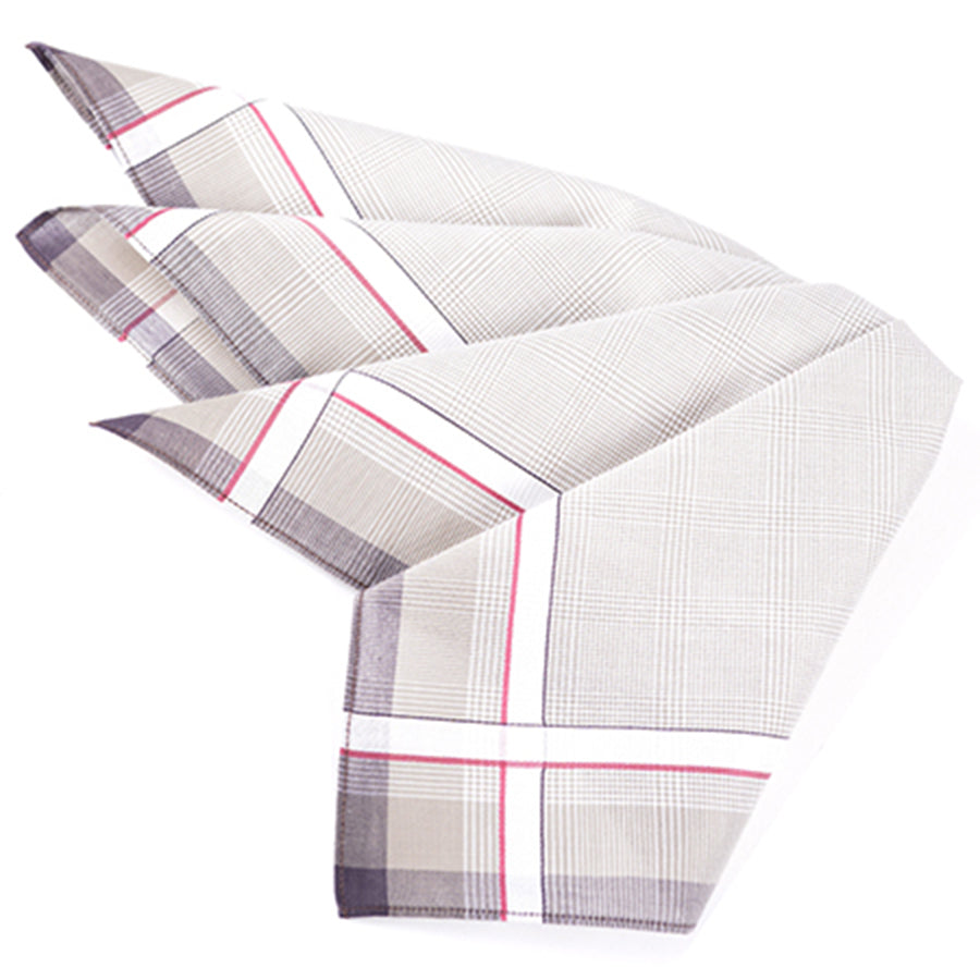 Multi Pocket Square, Set of 3