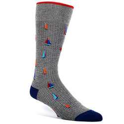 Sailboat Cotton Socks