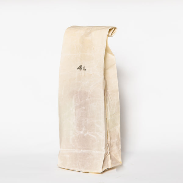 Waxed Canvas Grocery Bag, 4L