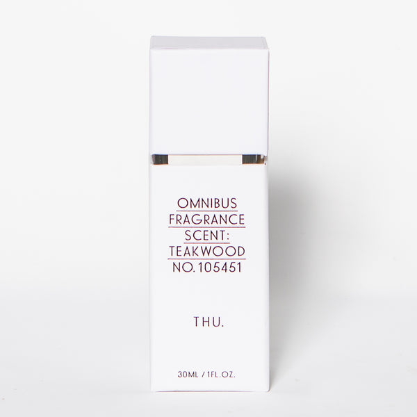 Omnibus Room Fragrance Diffuser, Thursday - Teakwood