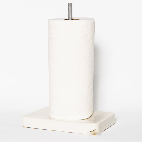 Ceramic Paper Towel Stand