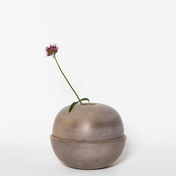 Oxidized Maple Dome Dry Vase