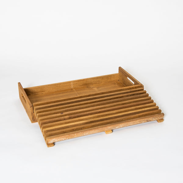 Teak Bread Cutting Board