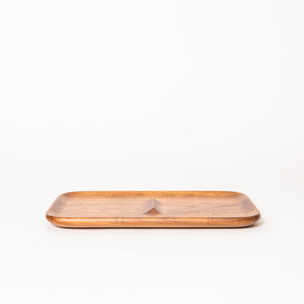 Nocturn Catch Tray, Walnut