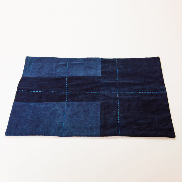 Indigo Boro Cotton Silk Placemat