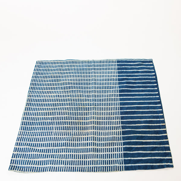 Indigo Cotton Dinner Napkins