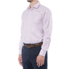 Wine Grid Dress Shirt