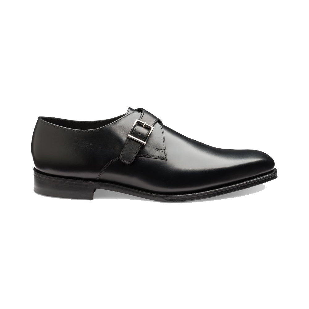 Black Medway Monk Strap Shoes - Sydney's, Toronto, Bespoke Suit, Made-to-Measure, Custom Suit,