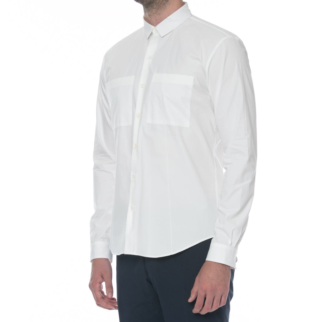 Flight White Button Down Shirt - Sydney's, Toronto, Bespoke Suit, Made-to-Measure, Custom Suit,