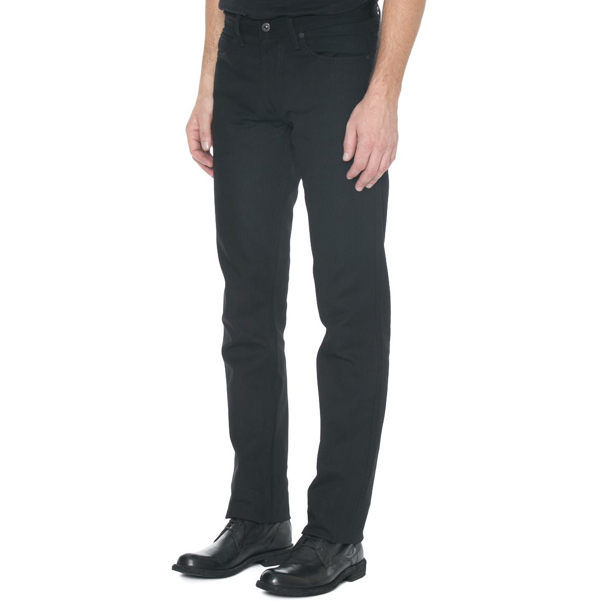 Narrow Fit Black Denim