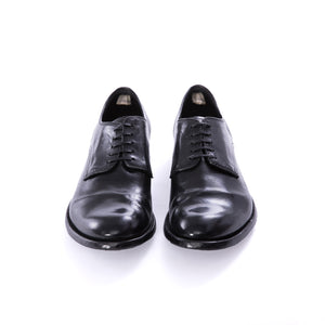 Bufalo Aero Nero Derby Shoes - Sydney's, Toronto, Bespoke Suit, Made-to-Measure, Custom Suit,