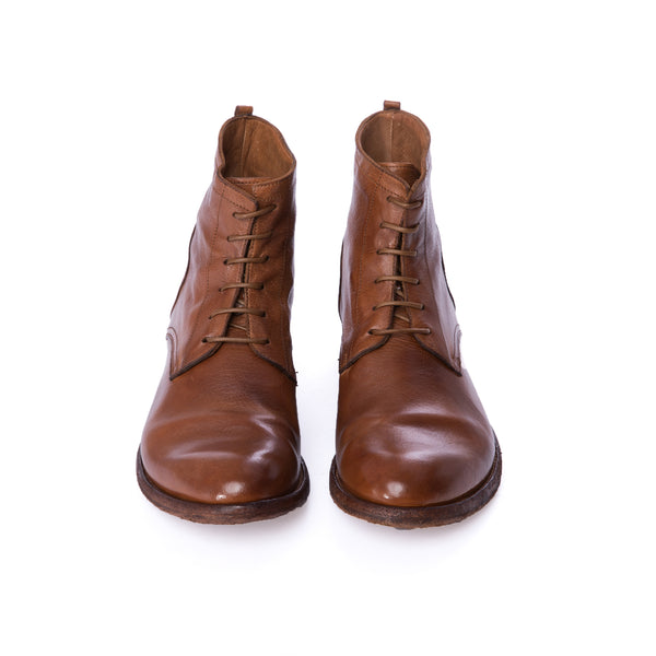 Cuoio Archive Leather Lace-up Boots