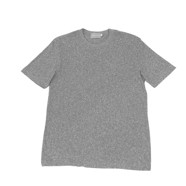 Salt and Pepper Cotton Crewneck T-Shirt