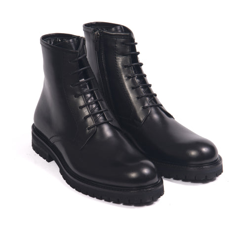 Black Ikon 18 Lace Up Boots