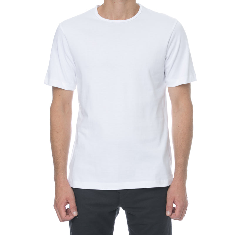 White Hi-Lo T-Shirt - Sydney's, Toronto, Bespoke Suit, Made-to-Measure, Custom Suit,