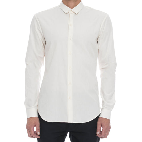 Bone Wrinkle Button Down Shirt