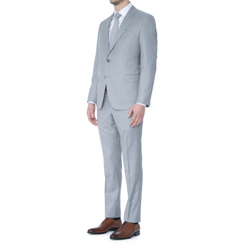 Cornflower Melange Suit
