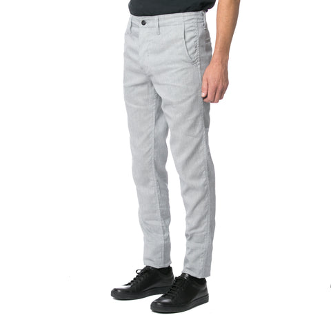 Honeycomb Charcoal Chinos