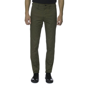 Olive Technical Stretch HT Chino Trouser