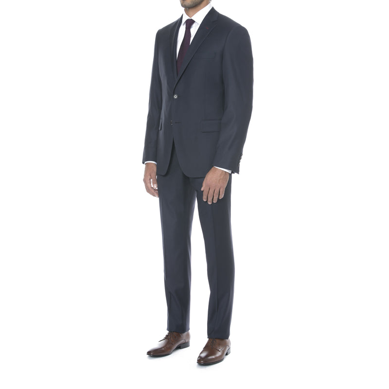 Navy Ice Wool Suit - Sydney's, Toronto, Bespoke Suit, Made-to-Measure, Custom Suit,