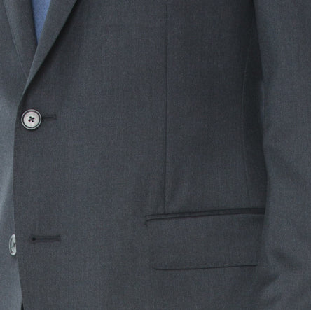 Charcoal Melange Suit - Sydney's, Toronto, Bespoke Suit, Made-to-Measure, Custom Suit,