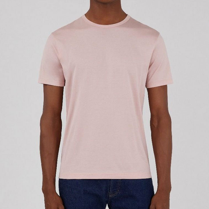 Classic Crew Neck T-Shirt, Dusty Pink