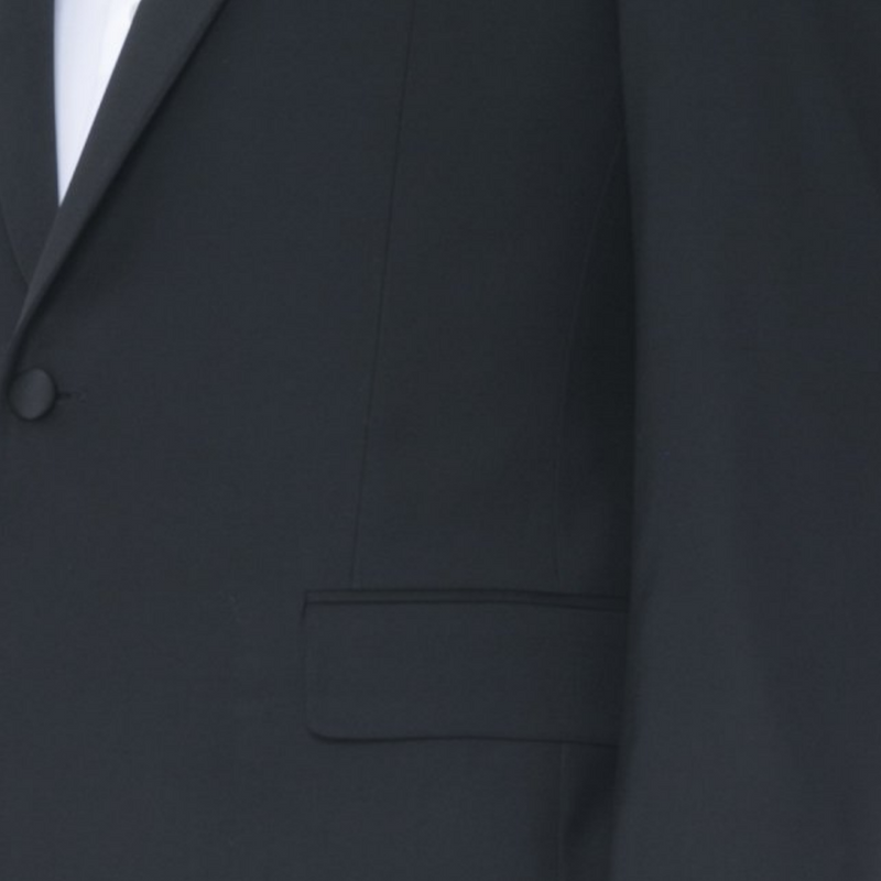 Black Ice Wool Tuxedo - Sydney's, Toronto, Bespoke Suit, Made-to-Measure, Custom Suit,