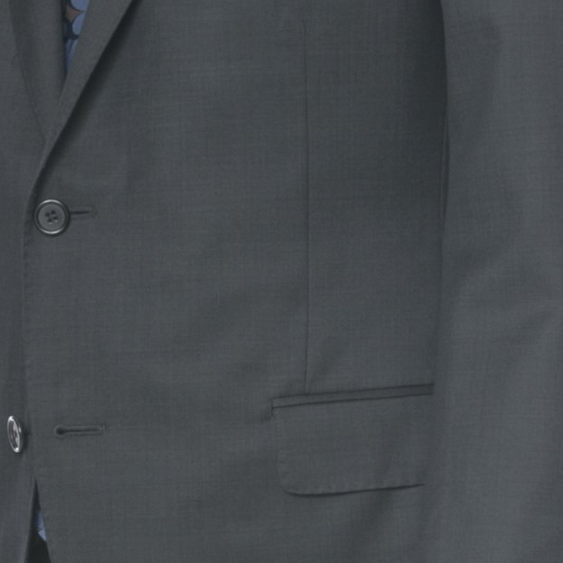 Charcoal Nailhead Wool Suit - Sydney's, Toronto, Bespoke Suit, Made-to-Measure, Custom Suit,
