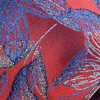 Red Japanese Jacquard Silk Tie - Sydney's, Toronto, Bespoke Suit, Made-to-Measure, Custom Suit,