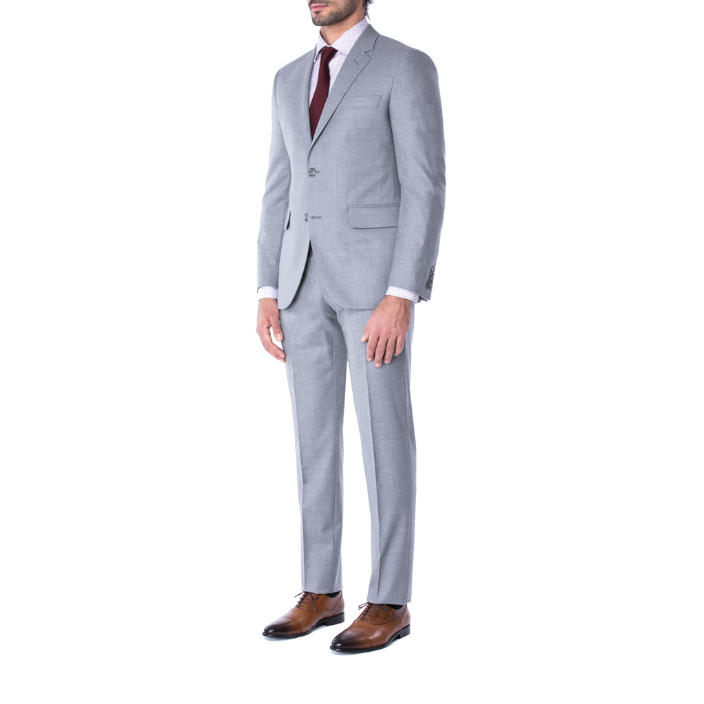 Harbour Grey Suit - Sydney's, Toronto, Bespoke Suit, Made-to-Measure, Custom Suit,
