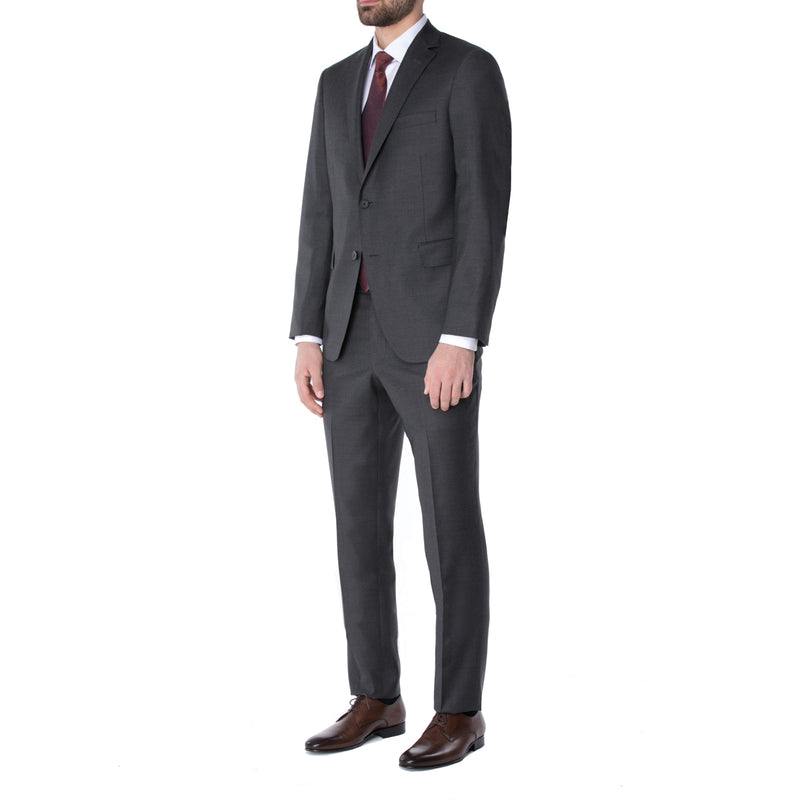 Charcoal Ice Wool Suit - Sydney's, Toronto, Bespoke Suit, Made-to-Measure, Custom Suit,