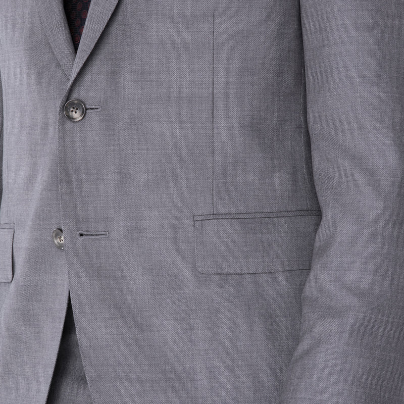 Grey Nailhead Suit - Sydney's, Toronto, Bespoke Suit, Made-to-Measure, Custom Suit,