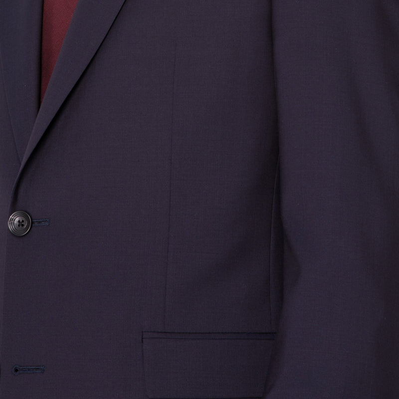 Navy Changeant Suit - Sydney's, Toronto, Bespoke Suit, Made-to-Measure, Custom Suit,
