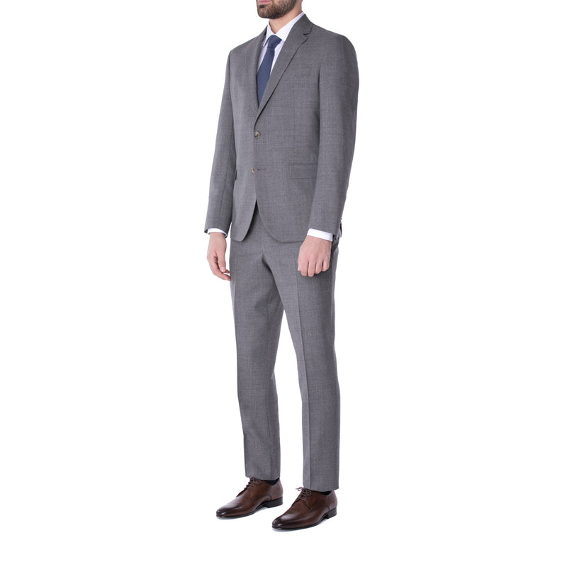 Pewter Grey Wool Suit - Sydney's, Toronto, Bespoke Suit, Made-to-Measure, Custom Suit,