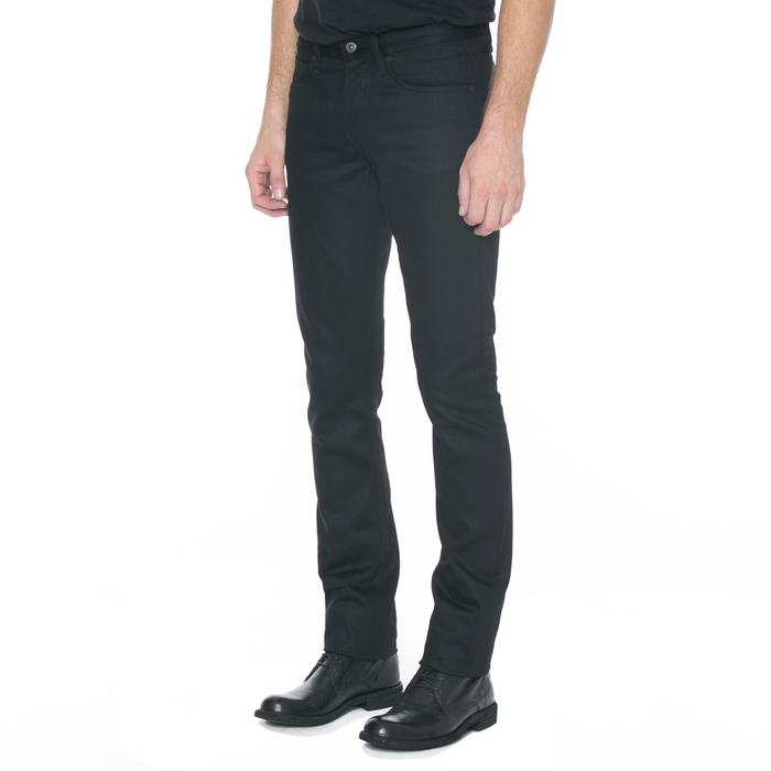 Black Slight Fit Denim Jeans