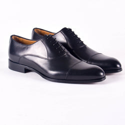 Made In Italy Cap Toe Dress Shoes