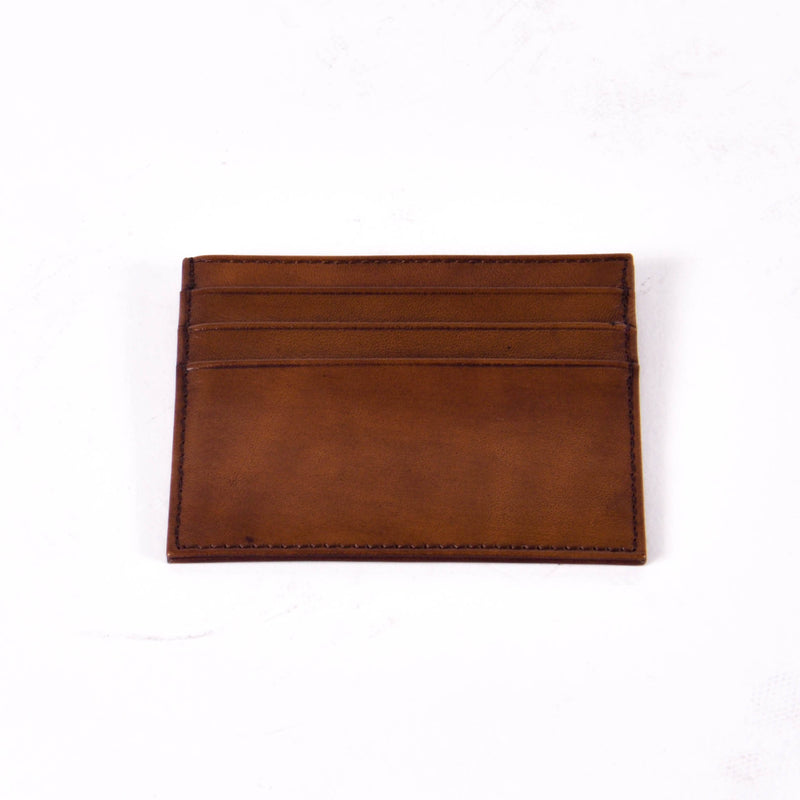 Leather Cardholder, Tobacco