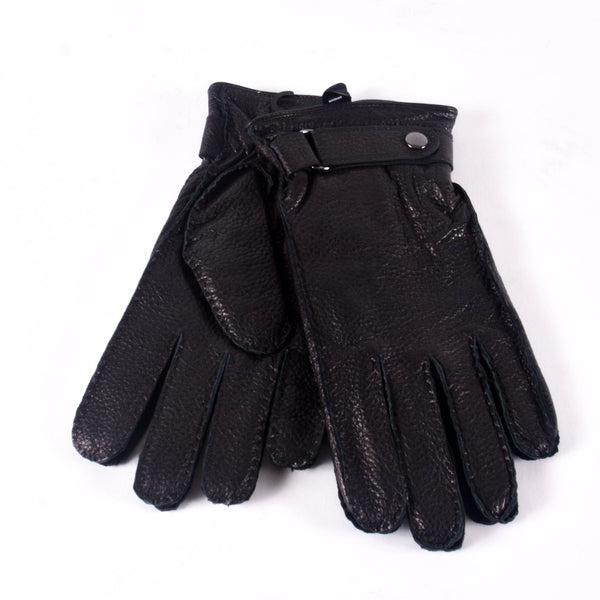 KIN Leather Thinsulate Lined Gloves, Black