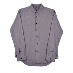 NIHL Button Down Shirt, Grey Flannel