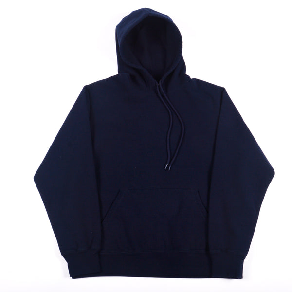 Midnight Navy 16 oz Cotton Fleece Hooded Sweatshirt