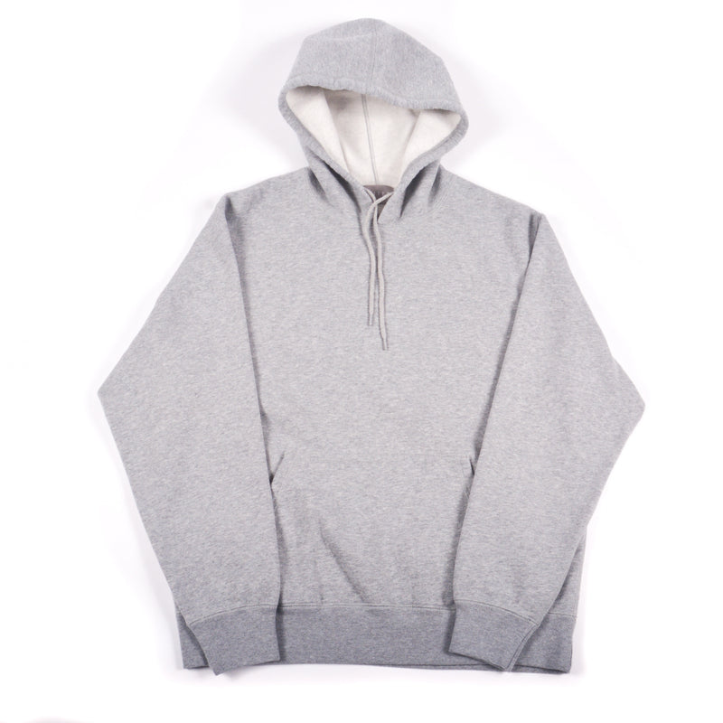 Grey 16 oz Cotton Fleece Hooded Sweatshirt