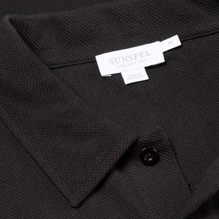 Black S/S Riviera Polo - Sydney's, Toronto, Bespoke Suit, Made-to-Measure, Custom Suit,
