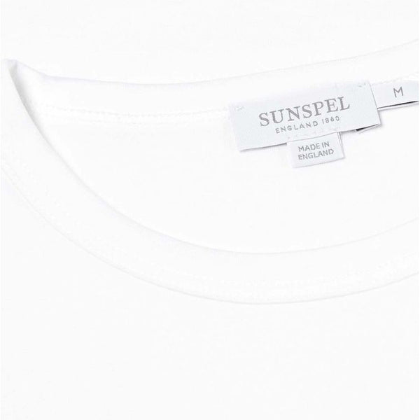 White S/S Classic Crew Neck T-Shirt - Sydney's, Toronto, Bespoke Suit, Made-to-Measure, Custom Suit,